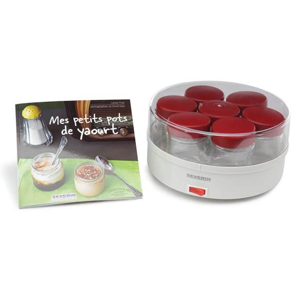Recette yaourtière Severin 14 pots